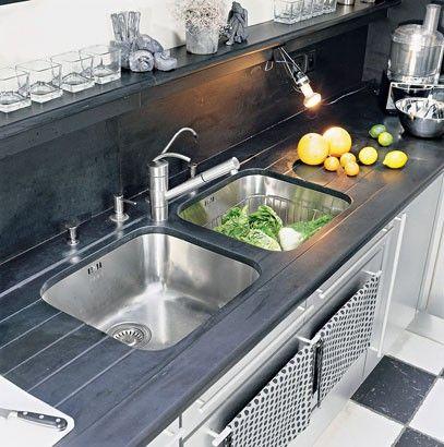 Best 25 plan de travail inox ideas on pinterest inox for Cuisines encastrees