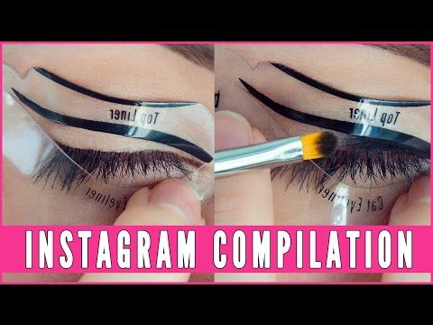 Best 10+ Winged eyeliner stencil ideas on Pinterest   How to do a ...