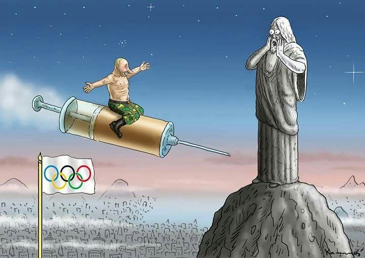 Marian Kamensky  (2016-07-25) JO 2016: PUTIN DARF NACH RIO ! dopage : La #Russie n'est plus exclue des J.O. de #Rio2016,  www.facebook.com/humorkamensky www.humor-kamensky.sk https://twitter.com/MarianKamensky1 #Putin #Olympia2016
