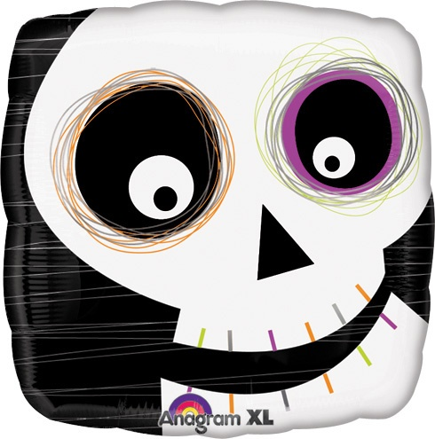 Balloons.com - Std Halloween Skull Square Balloon  - these were also used in my daughter's room!