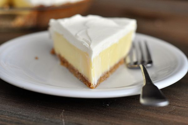 This lemon cream pie is magnificent and glorious and refreshing and creamy and perfect and you should just make it. Ok? Oh, you want me to say a bit more about it? To tell you that the luscious lem…