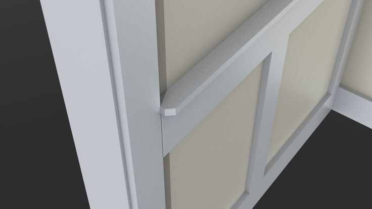 Wainscoting To 1x4 Casing Transition - Page 3 - Finish Carpentry ...