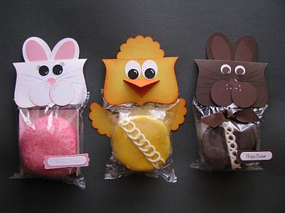Easy and CUTE Easter treat bags!