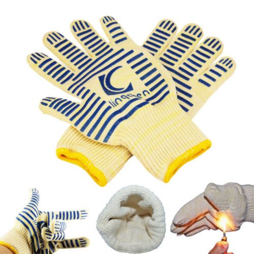 Thick & Flexible Extreme Heat Resistant Gloves The silicone Gloves LingChen