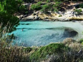 Naturisme vakantie: Naaktstrand Mallorca Playa del Mago