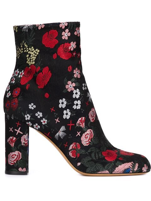Shop Valentino Garavani floral embroidered boots in Hu's Wear & Hu's Shoes from the world's best independent boutiques at farfetch.com. Shop 300 boutiques at one address.