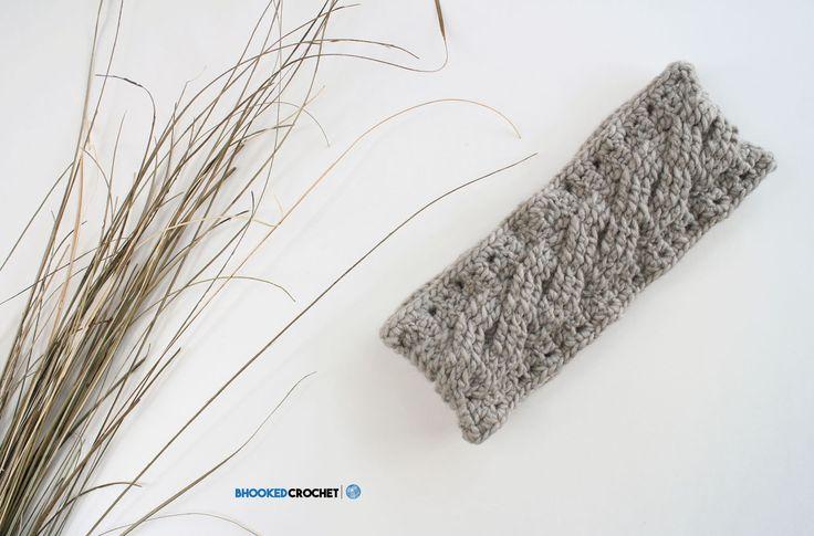Mejores 76 imágenes de Crochet | Headbands en Pinterest | Sombreros ...