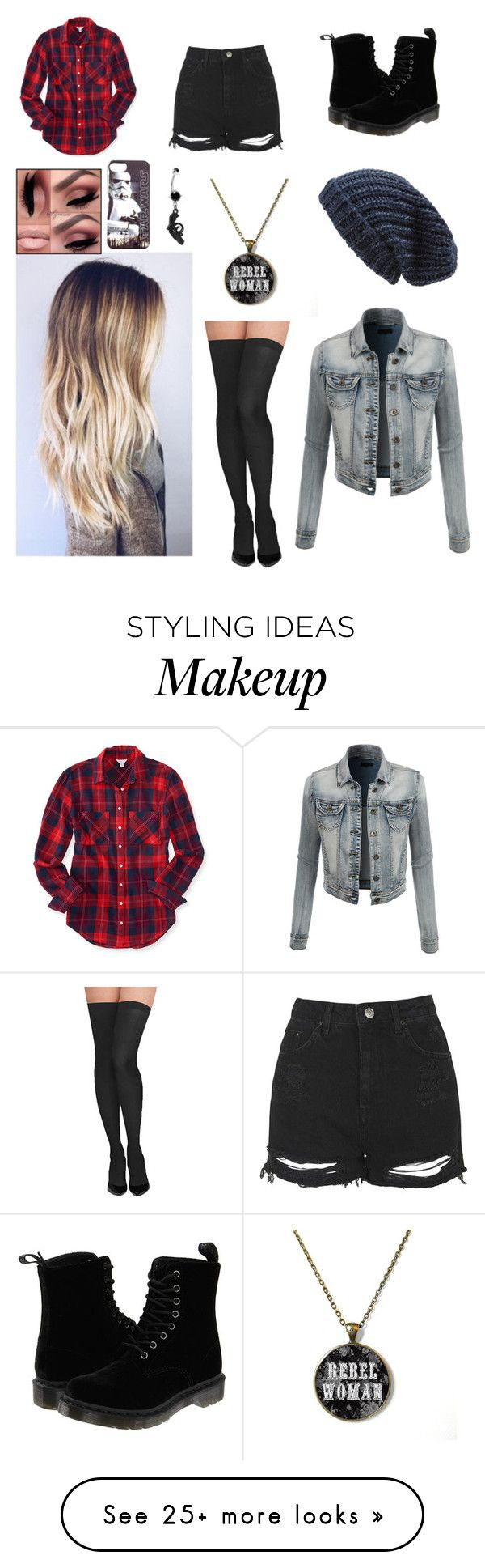 """""""Untitled #2631"""" by sammibeawsome on Polyvore featuring Aéropostale, Topshop, Dr. Martens, Revolver, Commando, LE3NO and Phase 3"""