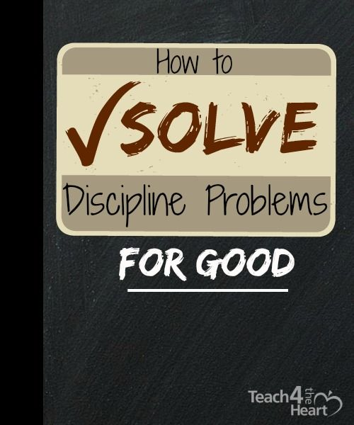 students discipline problem What would you consider a discipline problem  to quote evertson and weinstein in their handbook of classroom management  and penalties to control students.