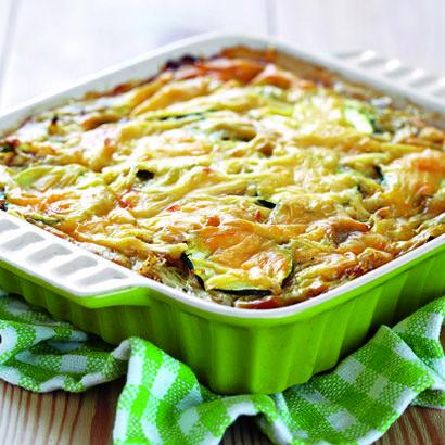 ALDI France - Recette - Gratin de courgettes et pommes de terre au fromage