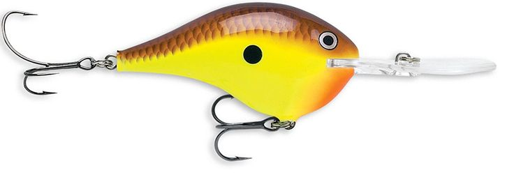 Rapala Dives-To 10 Fishing lure, 2.25-Inch, Chartreuse Brown >>> You can find out more details at the link of the image.