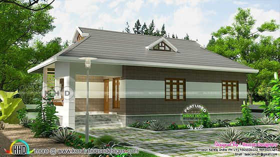 3 bedroom low cost house plan