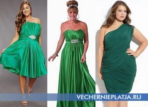 Куда можно одеть летнее зеленое платье