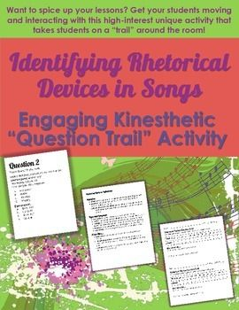 What are some ways that I can identify rhetorical devices in my research paper?