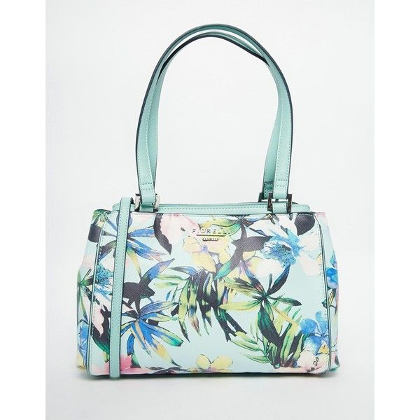 Fiorelli Medium Shoulder Bag In Floral Print ($65) ❤ liked on Polyvore featuring bags, handbags, shoulder bags, summer floral, fiorelli handbags, shoulder handbags, faux-leather handbags, white purse and summer purses