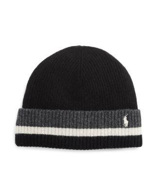POLO RALPH LAUREN Knitted Stripe Hat. #poloralphlauren #hat