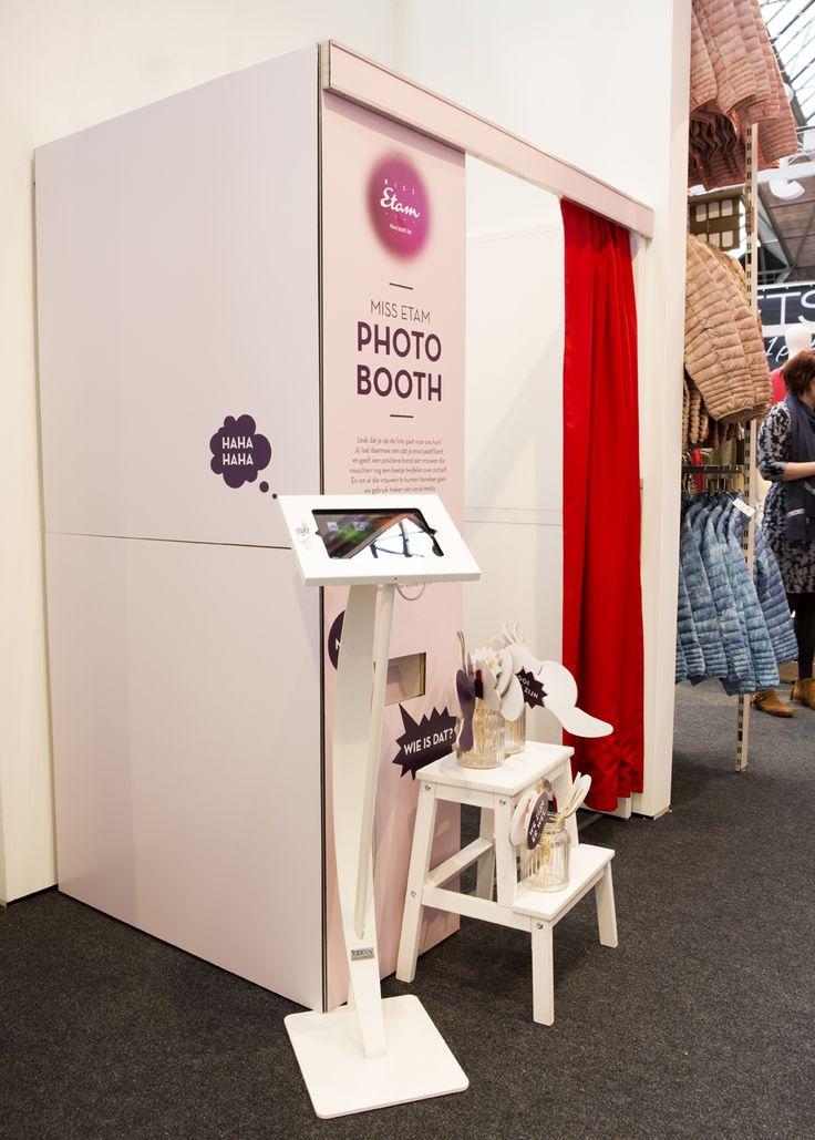 Photo booth #huishoudbeurs #missetam