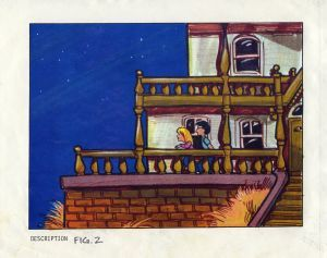 Maniac Mansion concept art.  Ron Gilbert and Gary Winnick - Thimbleweed Park - AdventureGamers.com