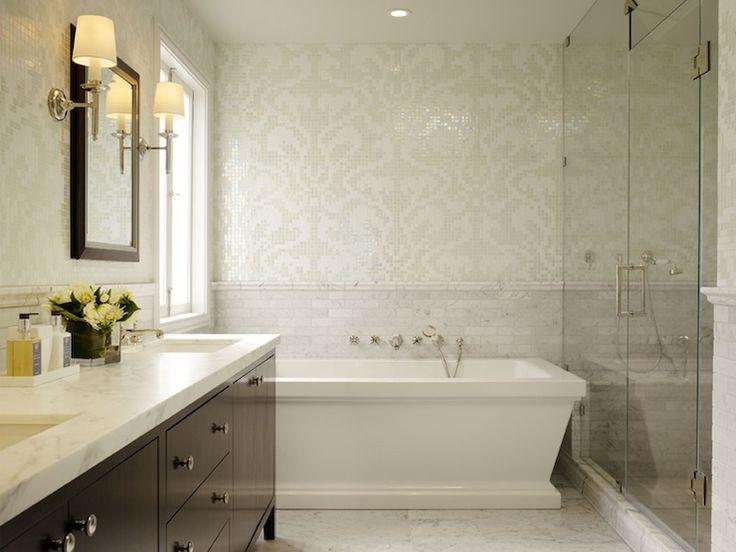 Bathroom Tile Ideas Cream best 10+ cream frameless mirrors ideas on pinterest | blue