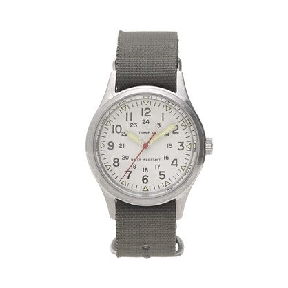 i think this is THE ONE. love the olive straps Timex® for J.Crew vintage field army watch
