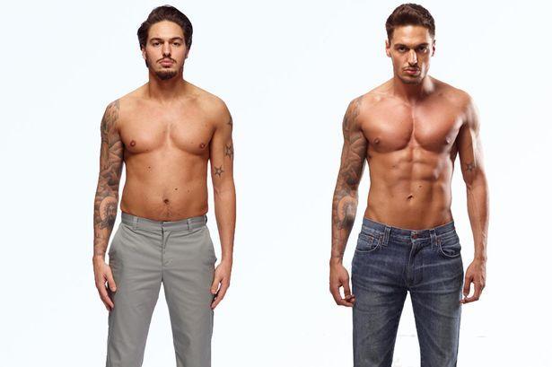 flabby men - Google Search | TORSO | 90 day transformation ...