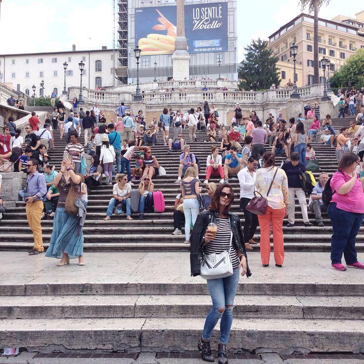 Hello again Piazza di Spagna!!! Happy to be back ❤️ Rome #hometown #piazzadispagna
