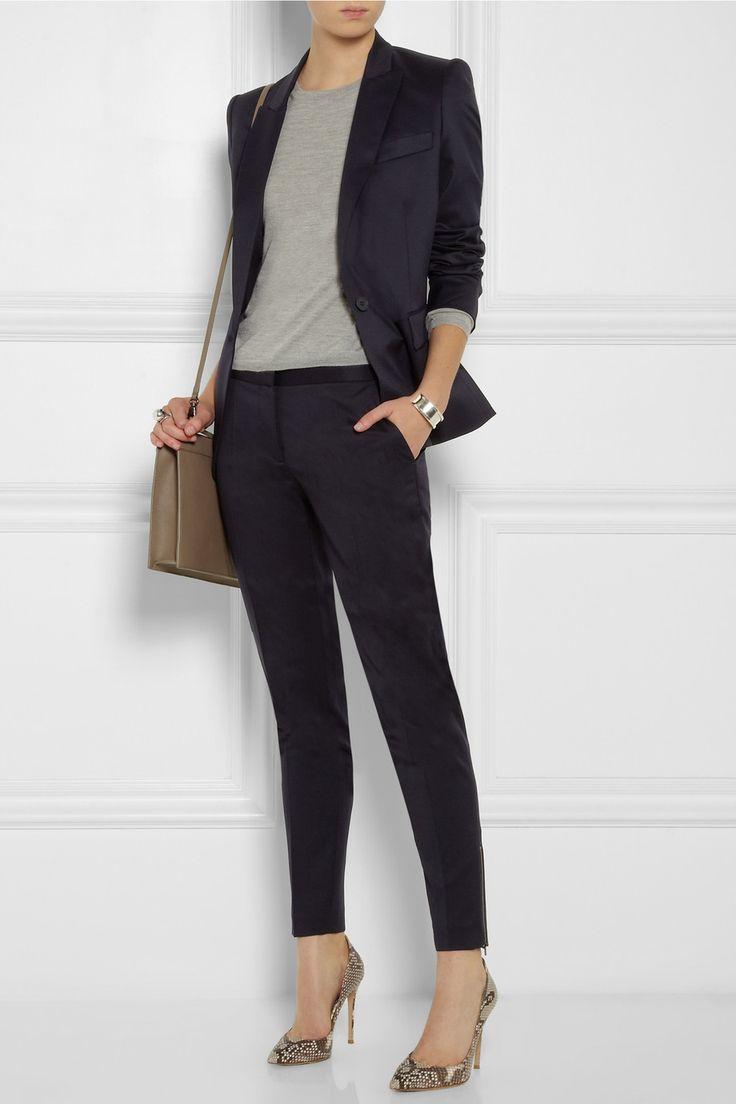 Stella McCartney | Ingrid wool-twill blazer | NET-A-PORTER.COM