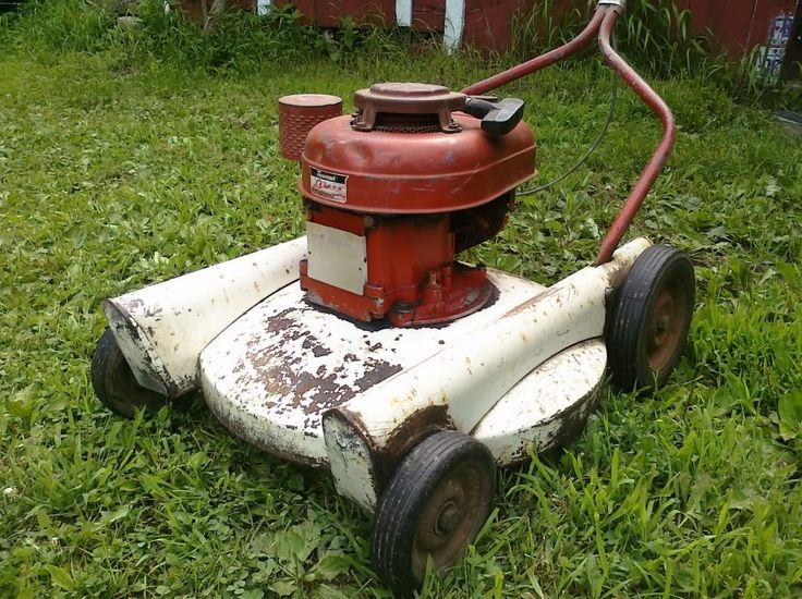 Old Craftsman Lawn Mowers : Images about vintage lawn mowers on pinterest what