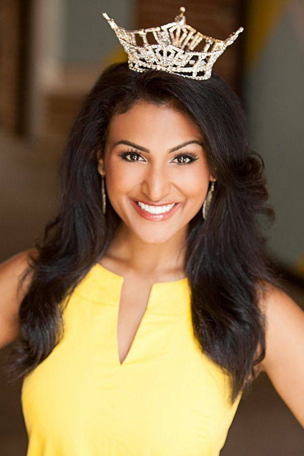 Miss America 2014 Nina Davuluri. Nina Davuluri claims back-to-back win for New York at Miss America 2014 pageant