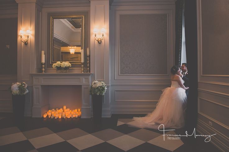 Hazelton Manor is an ideal wedding venue for intimate and grand events. That ceremony space is so elegant for portraits.