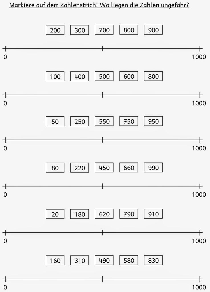 Lernstübchen: Zahlenstrich ZR 1000