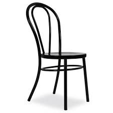 Image result for black thonet chairs bentwood white cafe