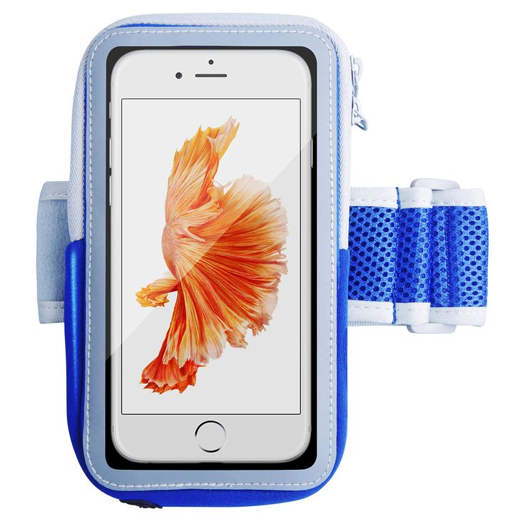iPhone 6s Armband,Splaks Sports Armband for iPhone 6/6s Running Cell Phone Holder, Light-Weight Water-Resistant Sweat-Free with Adjustable size and Key Cash Holder