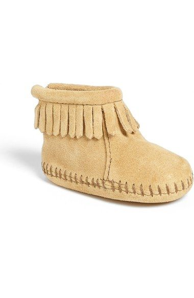 minnetonka bootie baby u0026 walker available at nordstrom