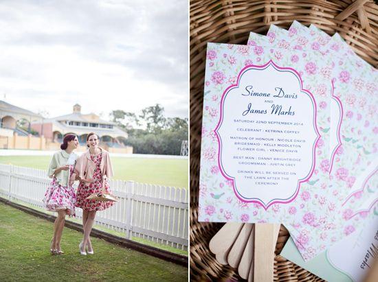 fifities wedding inspiration004 Fifties Wedding Inspiration