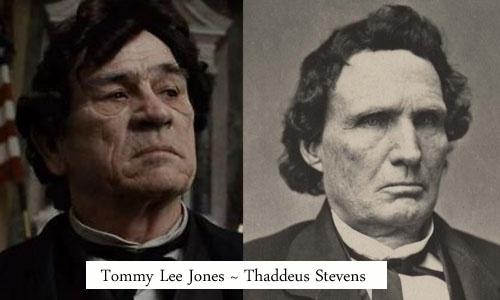 Tommy Lee Jones ~ Thaddeus Stevens