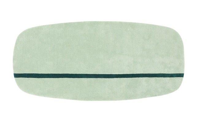 Normann Copenhagen Oona vloerkleed - mint - 90 x 200 cm