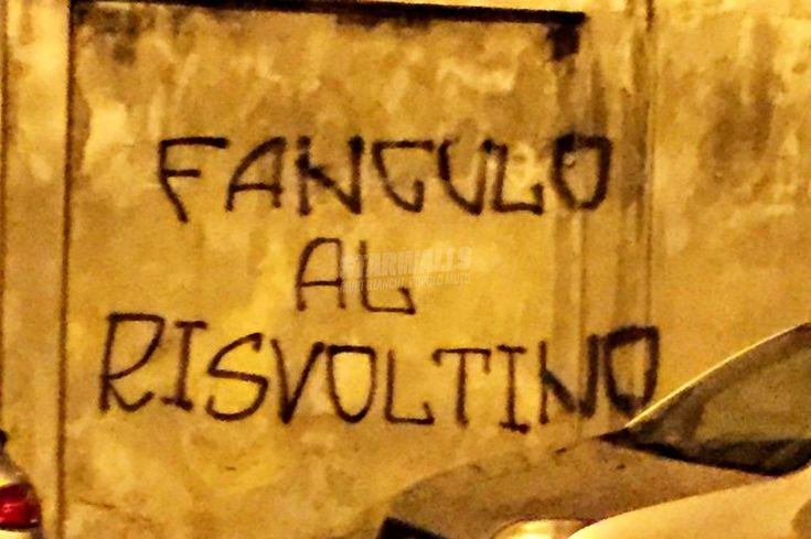 Foto e immagini di Scritte Sui Muri | Novara dice basta - Pubblicato in: Saggezza popolare, Società - Autore: Undici - Data: 6 maggio 2015