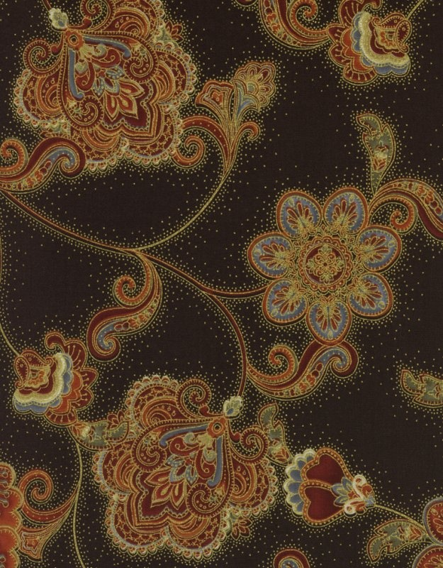 Timeless Treasures - Pashmina CM9639-Brown
