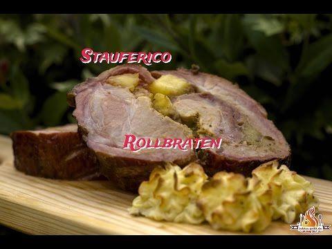 Stauferico Rollbraten aus dem Davy Crockett - #tobiasgrillt http://tobiasgrillt.de