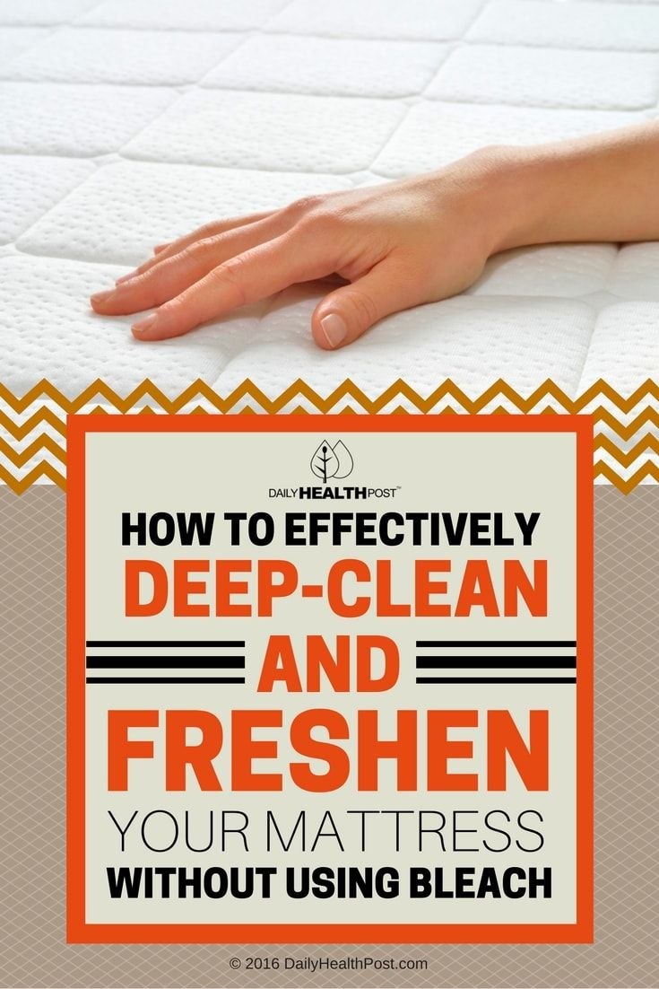 Although most people clean their bed sheets every week, it_s rare for people to think of washing their mattress even just once a month.