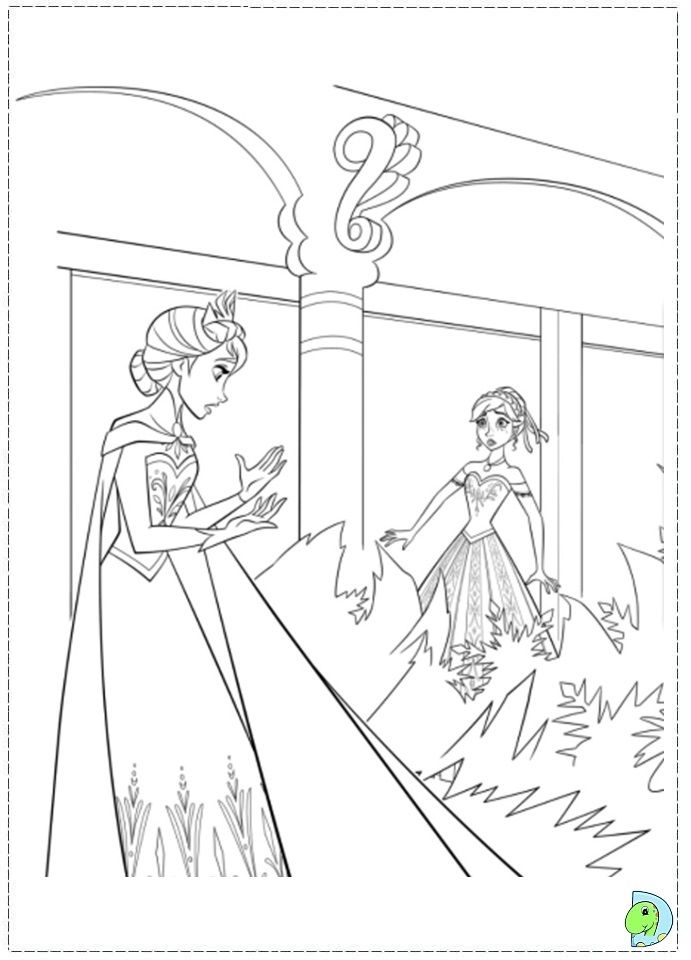 Hard Frozen Coloring Pages : Must see frozen coloring sheets