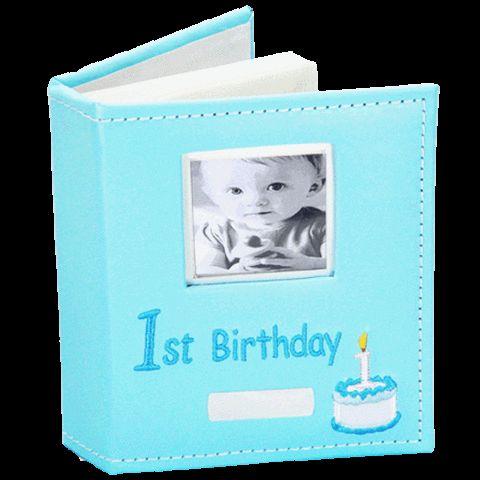 Angel Giftwares Photo Album, 1st Birthday, Blue – Sweet Thing Baby & Childrens Wear #Kids #Gift #Stuff sweetthing.com.au