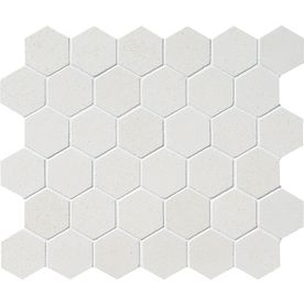 Marble Systems 6-Pack 12-in x 12-in White Limestone Natural Stone Wall Tile