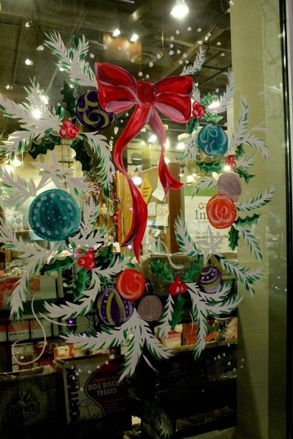 20+ Wonderful Christmas Window Decor Ideas Christmas