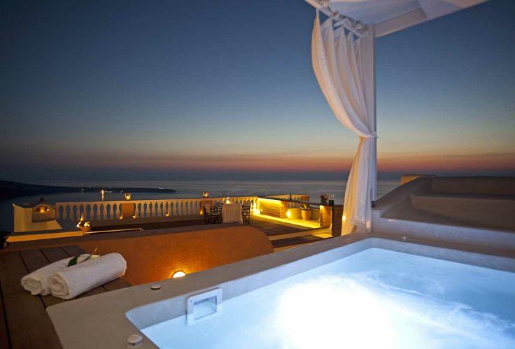 Oia Mansion, luxury villa in Santorini, Oia. The best sunset location in Oia Santorini, Greece