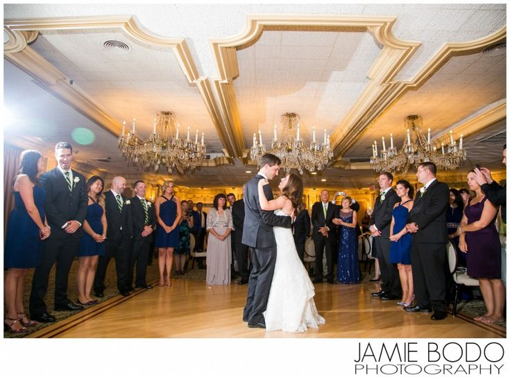 First Dance at The Manor in West Orange NJ Wedding Photos