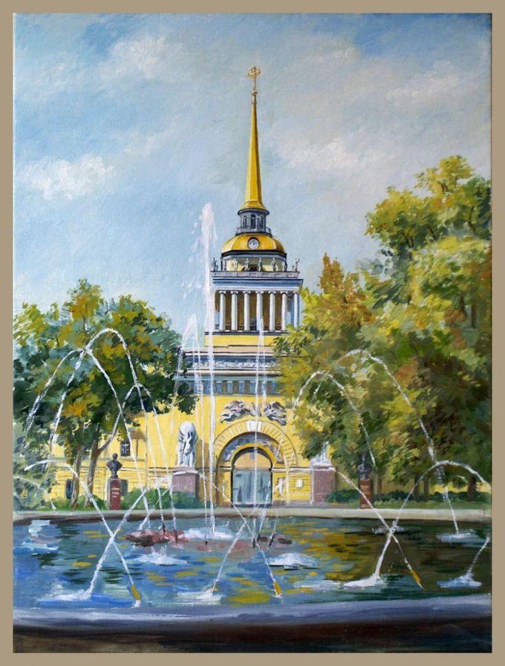 Адмиралтейство санкт-петербург открытки