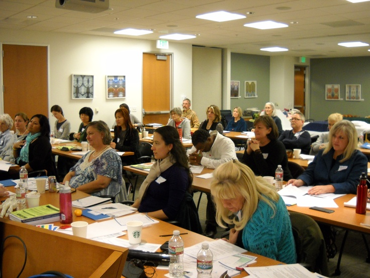 We all learned so much throughout the Reflexology Association of California Conference