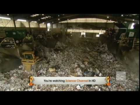 This clip shows how household trash are recycled and processed. More info can be found @ www.wm.com Please subscribe to http://www.youtube.com/user/ScienceCh...